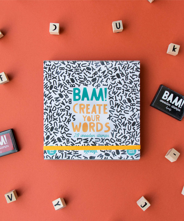 LONDJI - Bam! Words Creative Stamps