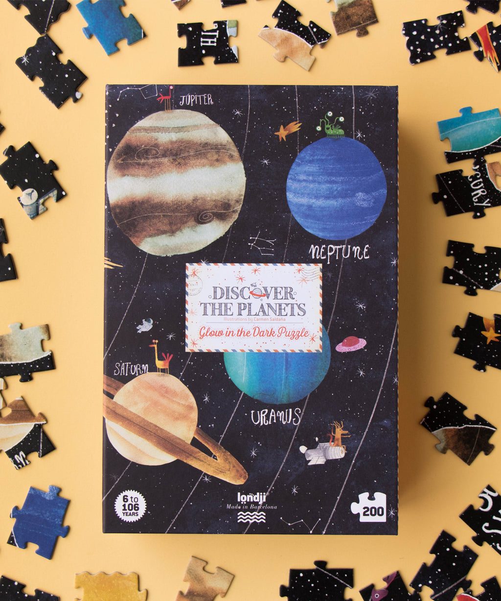LONDJI - Discover The Planets Glow In the Dark Puzzle