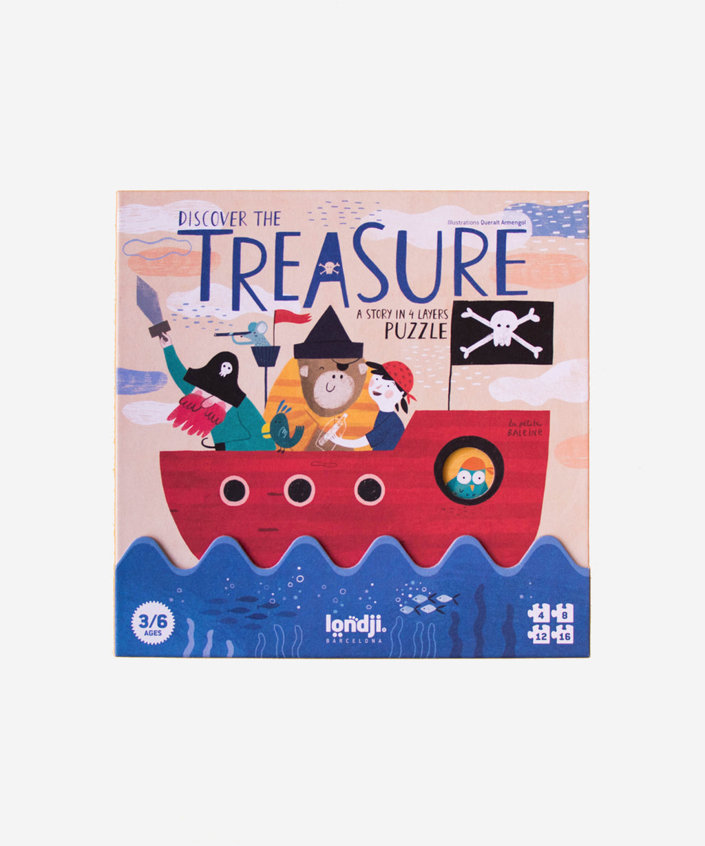 LONDJI - Discover The Treasure 4 Layer Puzzle