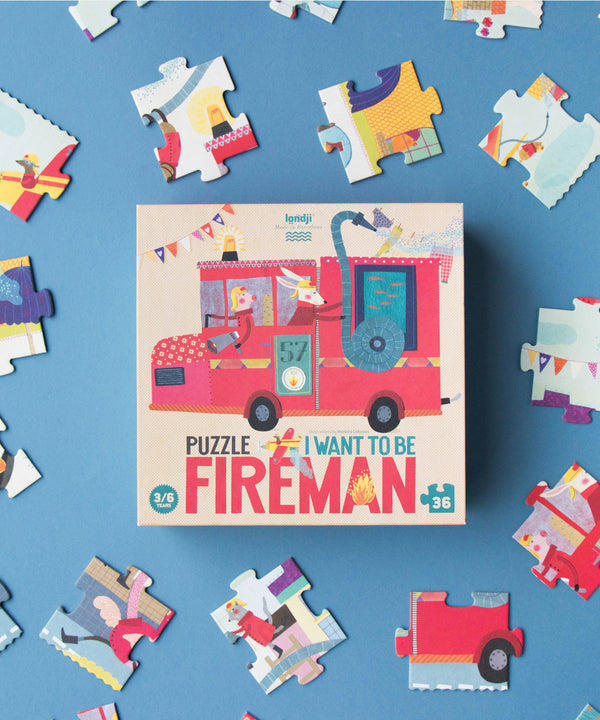 LONDJI - I Want To Be... Fireman Puzzle