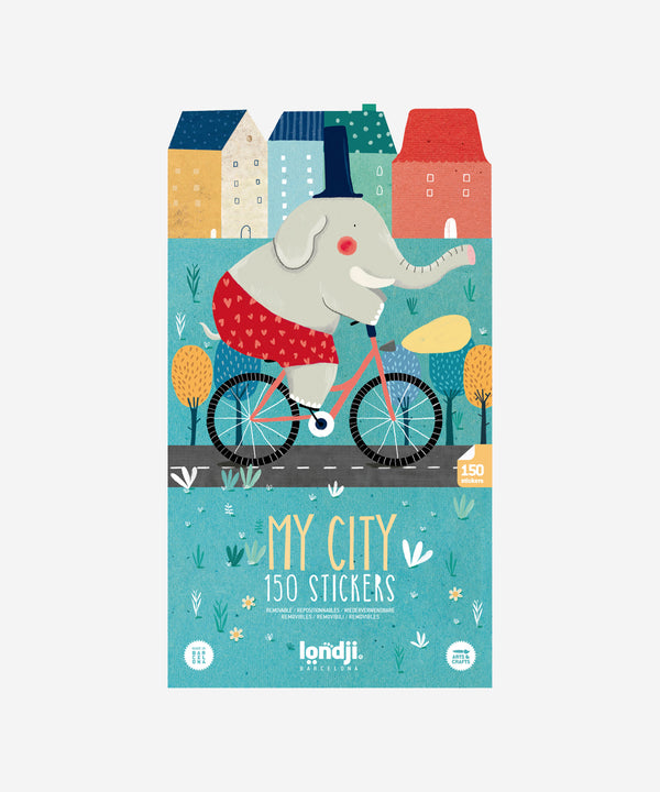 LONDJI - My City Sticker Book