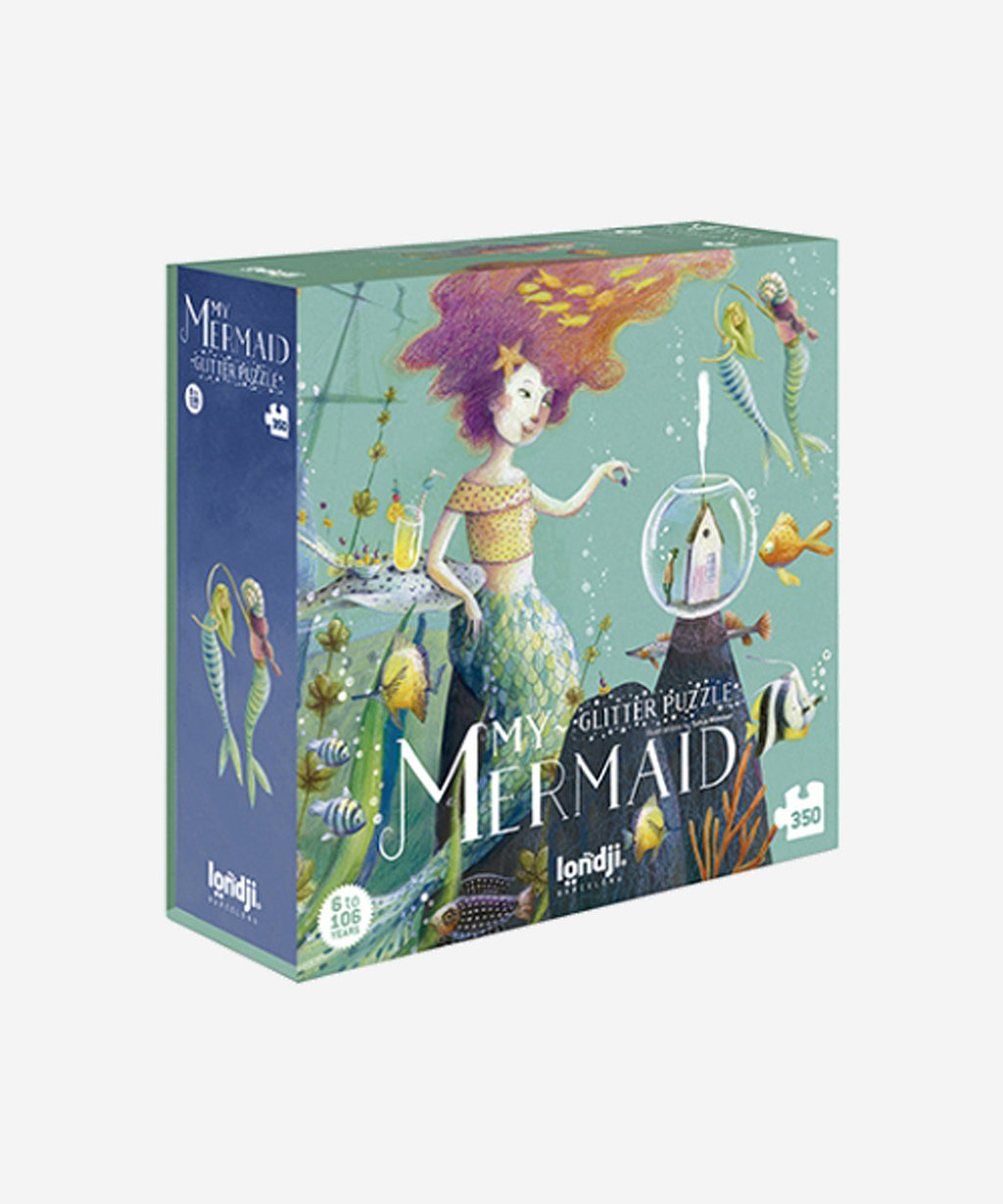 LONDJI - My Mermaid Glitter Puzzle
