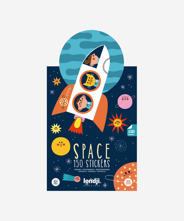 LONDJI - Space Sticker Book