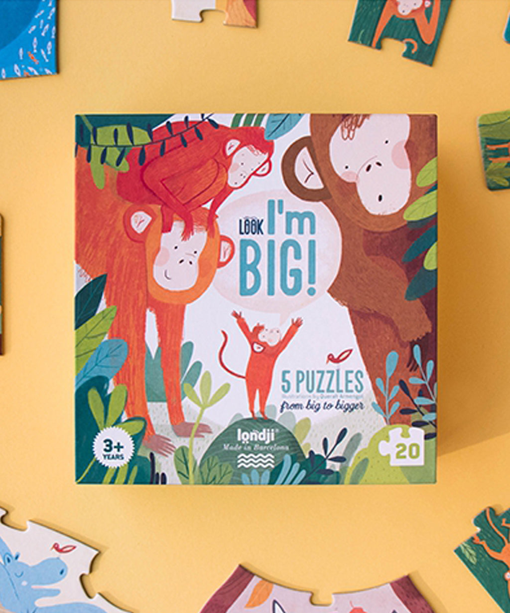 LONDJI - Look! I'm Big 5 Puzzles