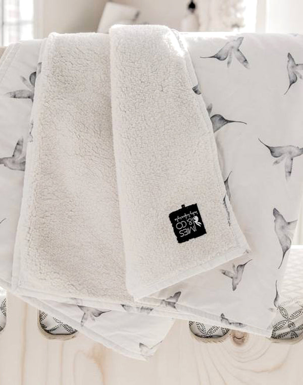 Mies & Co - Baby Teddy Blanket - Little Dreams