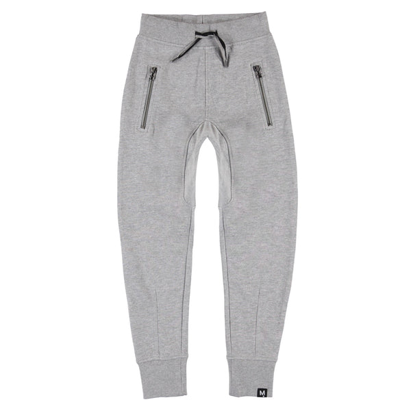 MOLO ASH JOGGINGS IN GREY MELANGE