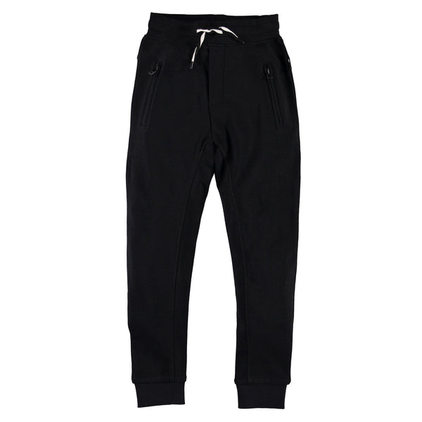MOLO ASH JOGGINGS IN BLACK