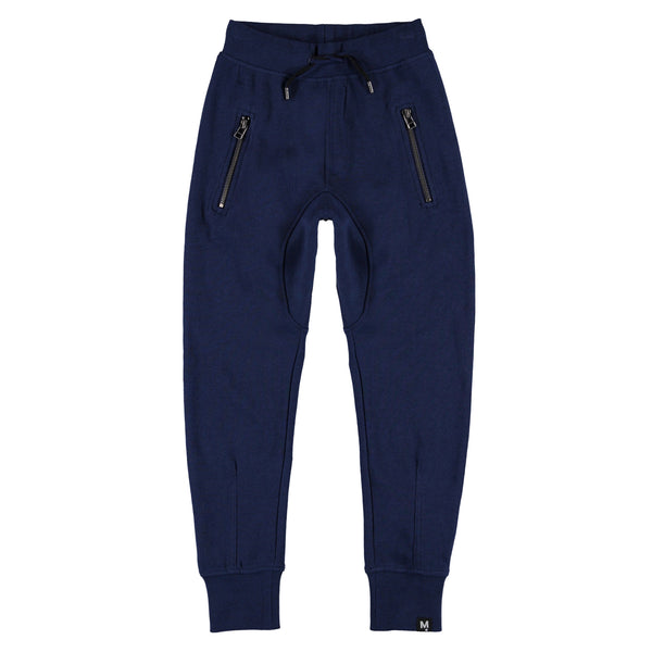 MOLO ASH JOGGINGS IN DARK BLUE