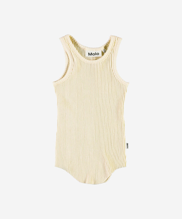 MOLO Girls Roberta Rib Tank Top Banana Crepe