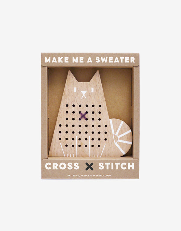 Moon Picnic - Cross Stitch Friends - Cat