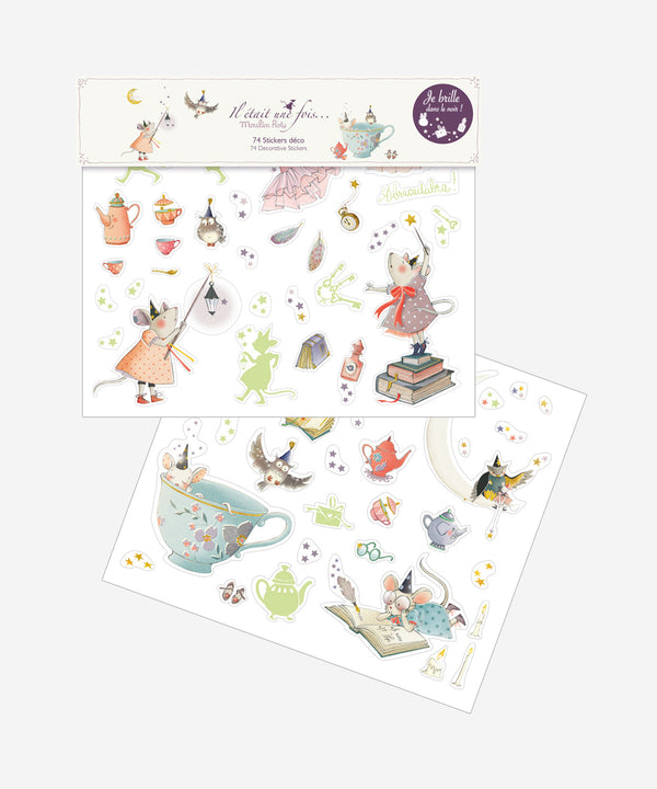 MOULIN ROTY - Luminous Decorative Stickers Il Etait Une Fois