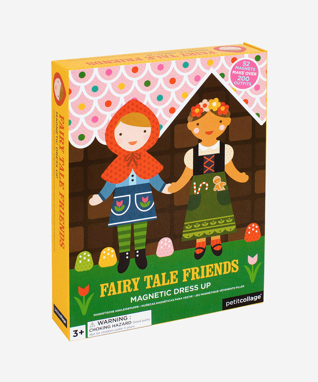 Petitcollage - Magnetic Dress Up - Fairytale Friends