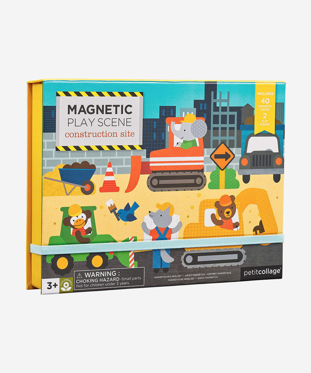 PetitCollage - Magnetic Playscene - Construction