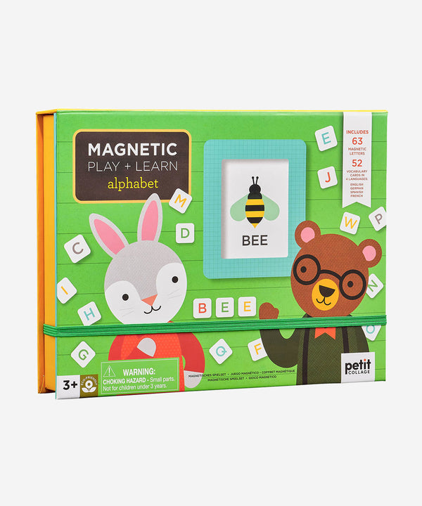 PetitCollage - Magnetic Play & Learn Set - Alphabet