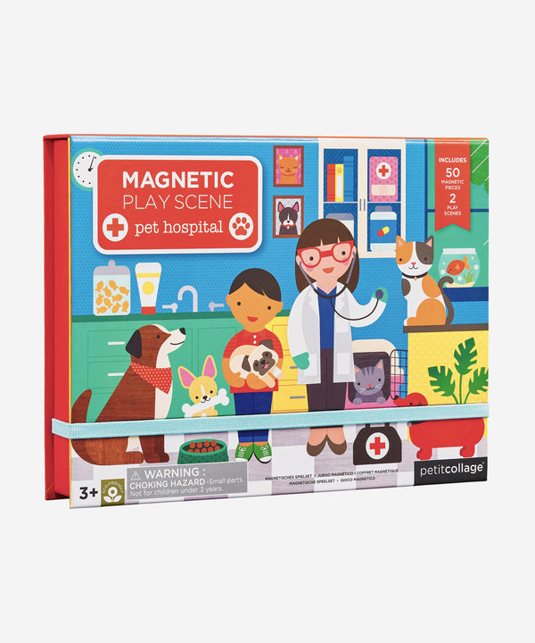 PetitCollage - Magnetic Playscene - Pet Hospital