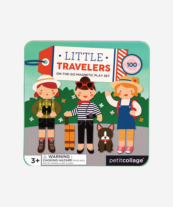 Petitcollage - Magnetic Play Set - Little Travelers