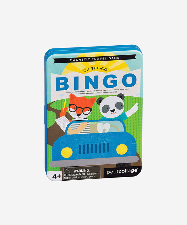 PetitCollage - Magnetic Tin Travel Game - Bingo