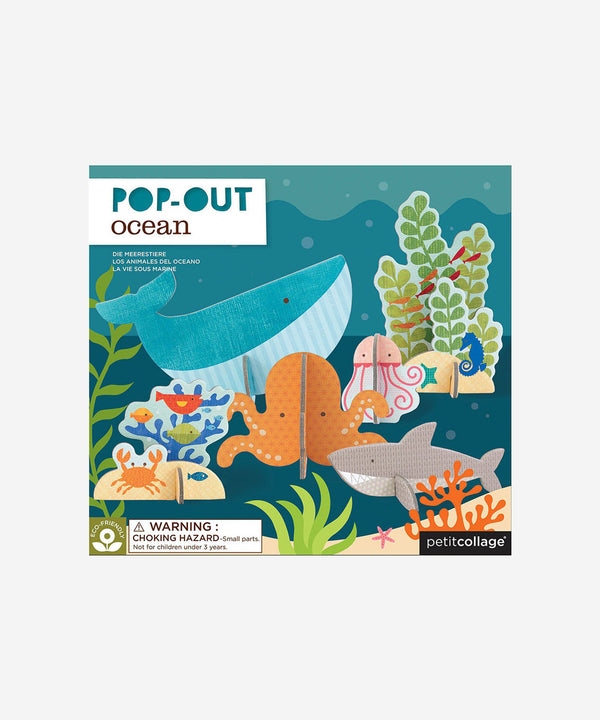 PetitCollage - Pop Out & Build - Ocean Playset