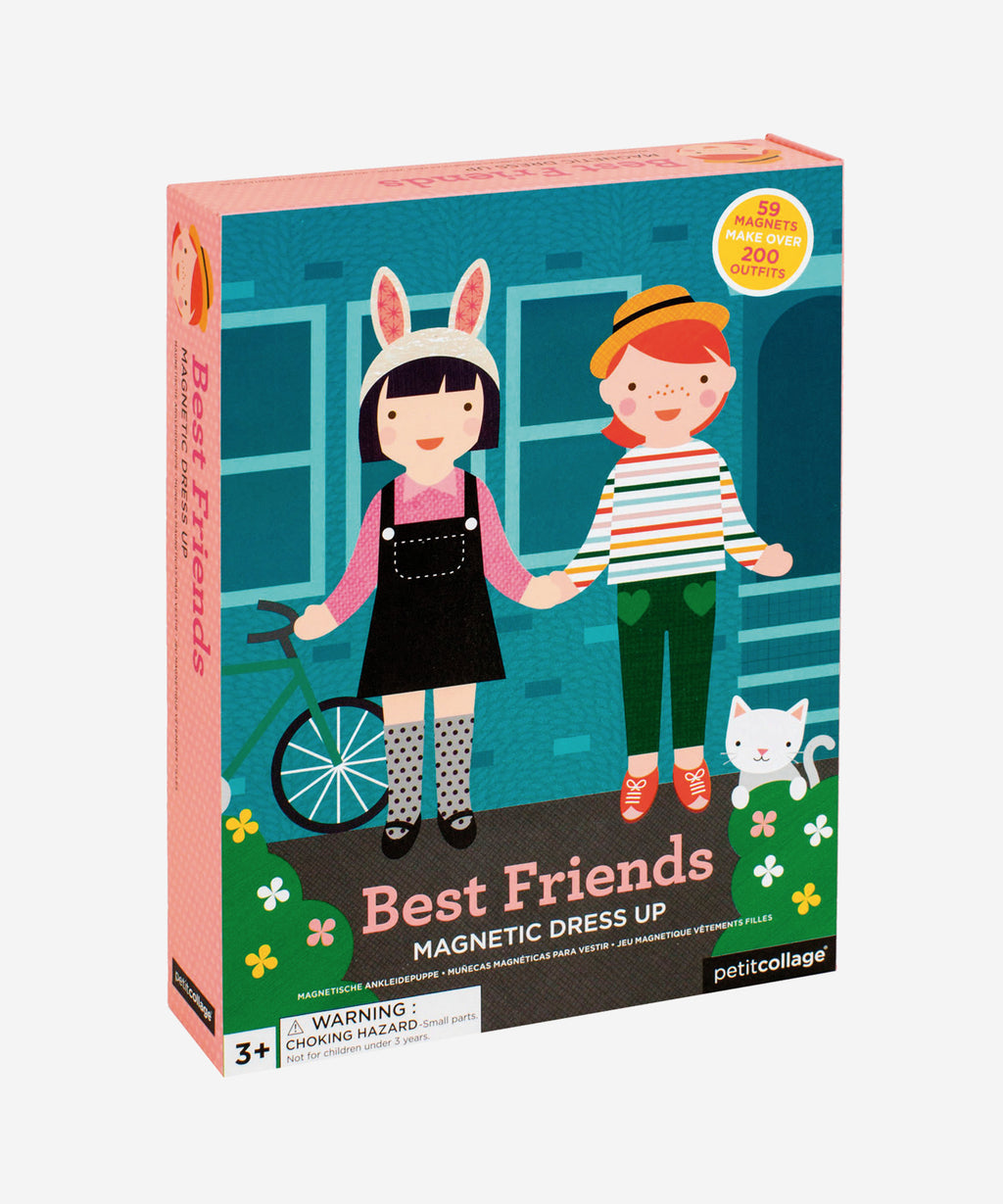 Petitcollage - Magnetic Dress Up - Best Friends