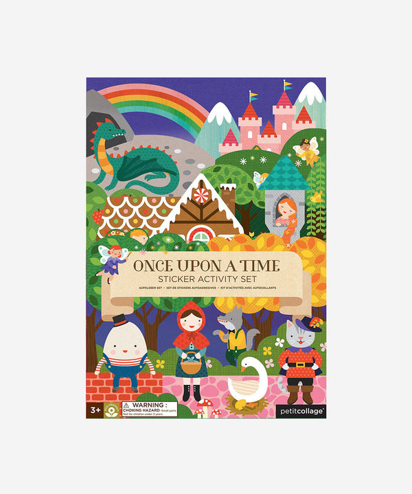 Petitcollage - Sticker Activity Set - Once upon a Time