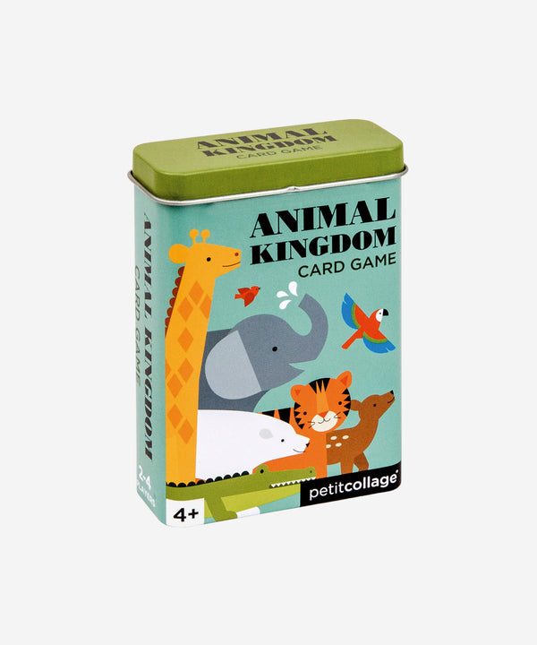 PetitCollage - Card Game In Tin - Animal Kingdom