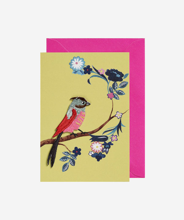 Petra Boase - Iron on Patch Card - Bird