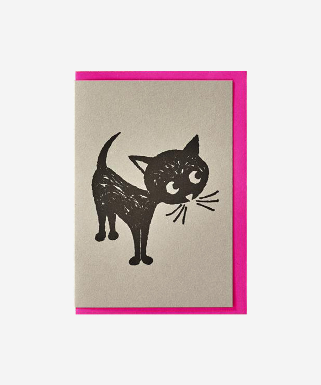 Petra Boase - Quirky Pets Card - Cat