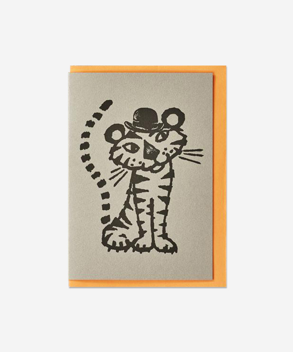 Petra Boase - Quirky Pets Card - Tiger