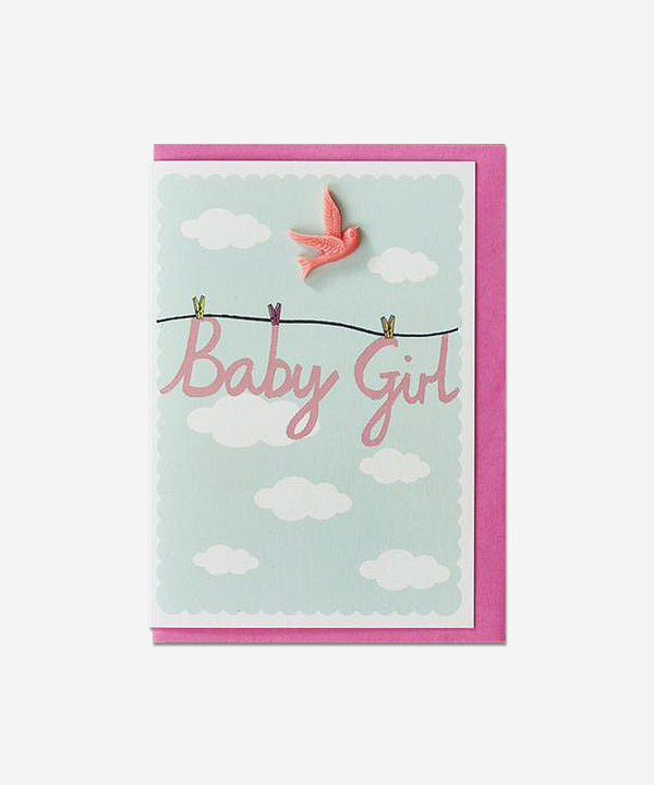 Petra Boase - Resin Card - Baby Girl