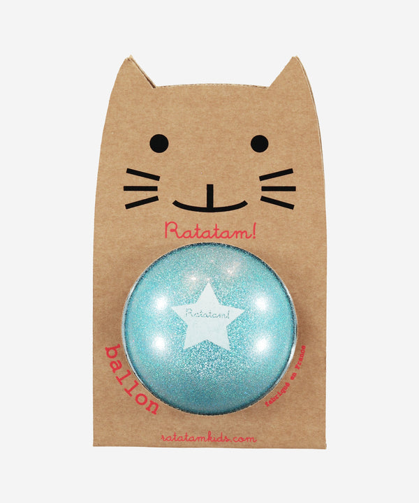 Ratatam Glitter Ball Blue Large