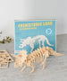 REX LONDON - Triceratops 3D Wooden Puzzle