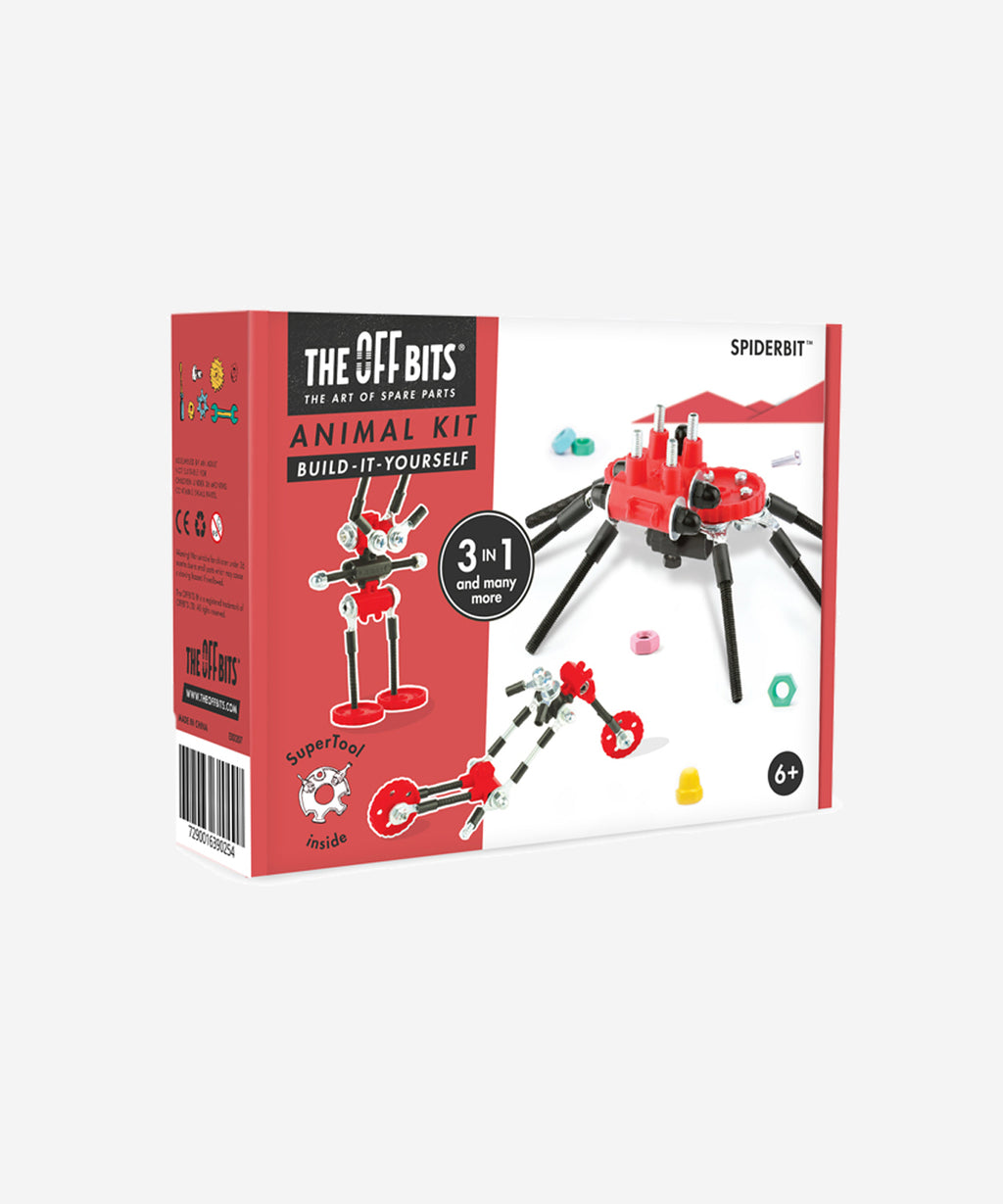 The OffBits - Animal Kit 3 in 1 - SpiderBit