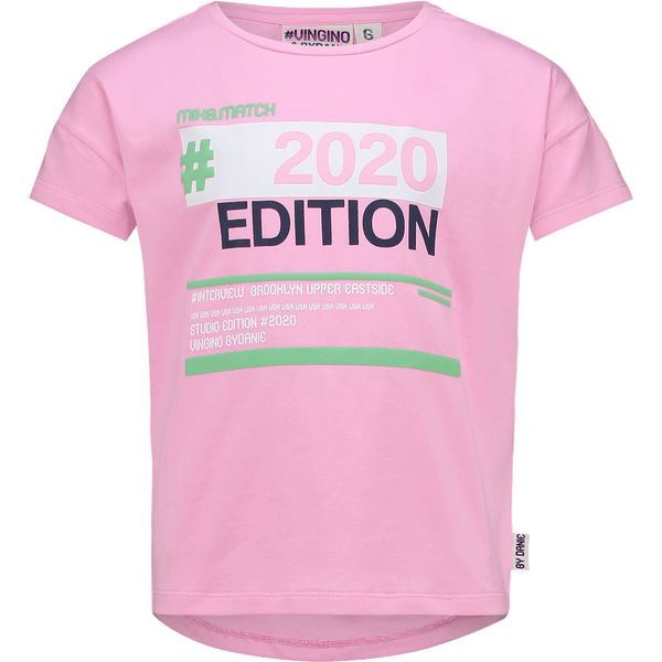VINGINO GIRLS T-SHIRT HYLIE 2020 HOT PINK