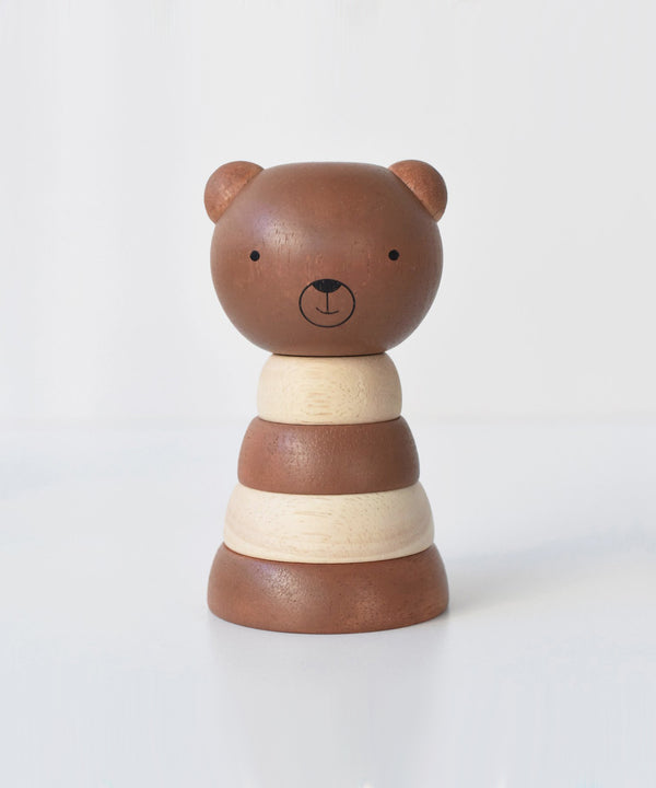 Wee Gallery - Wood Stacker - Bear