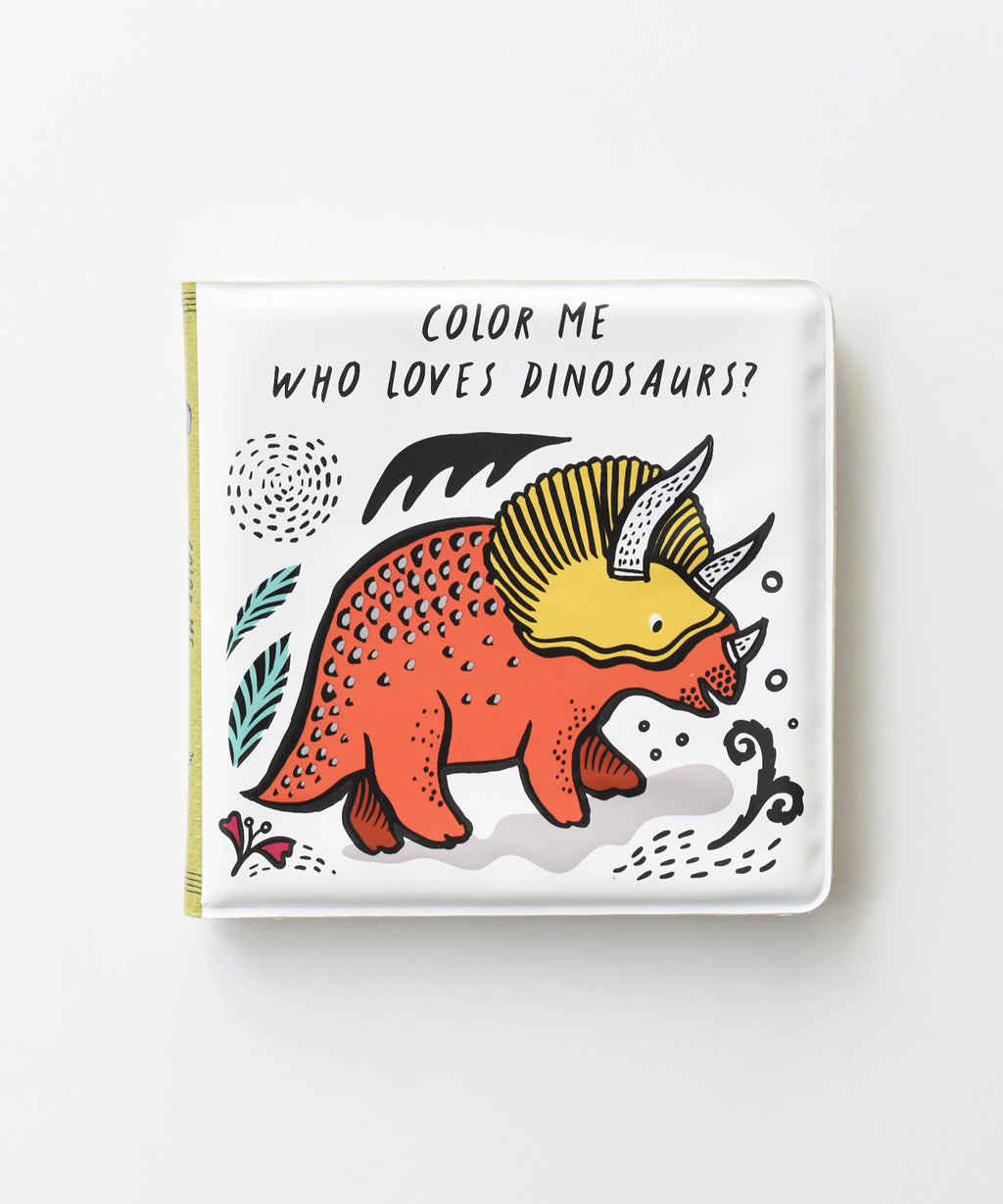 Wee Gallery - Color Me Book - Who loves Dinosaurs?