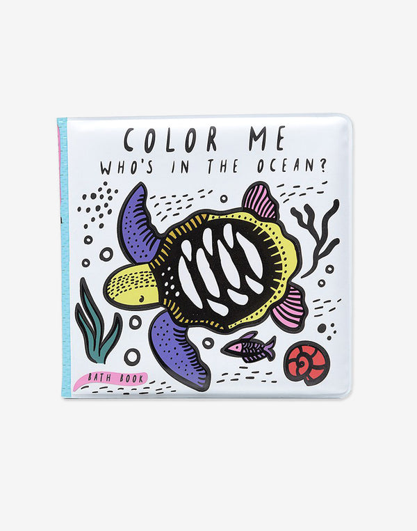 Wee Gallery - Color Me Book - Who's in the Ocean?