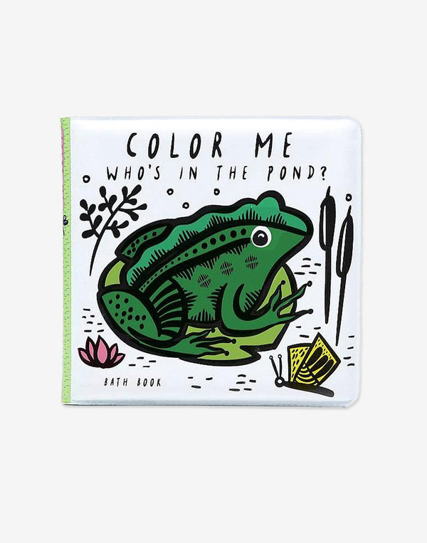 Wee Gallery - Who's in the Pond? - Color Me Book
