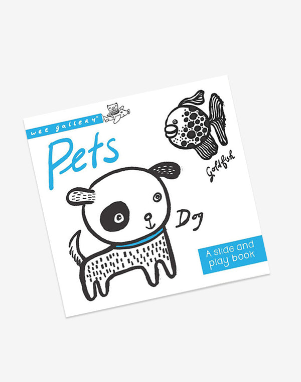 Wee Gallery - Pets - Slide & Play Book