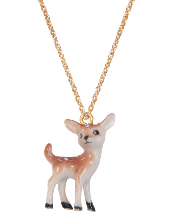 A Mini Penny MINIature Deer Necklace