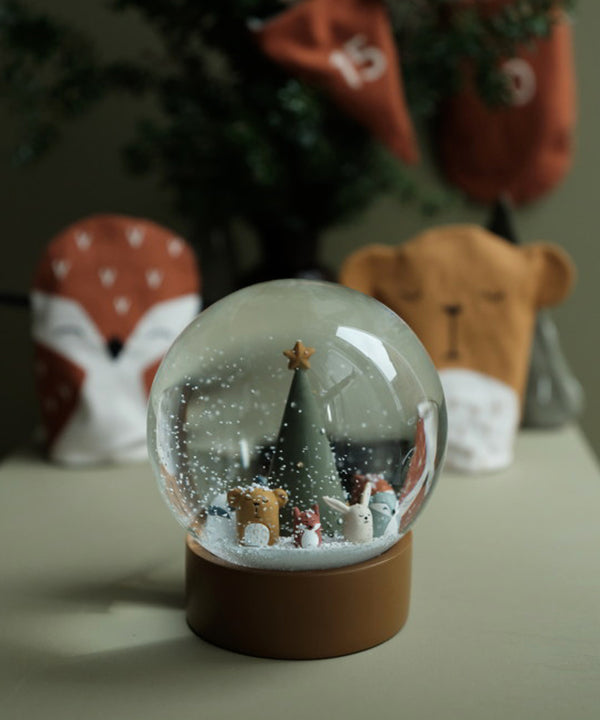 Fabelab - Snow Globe - Woodland Animal Christmas