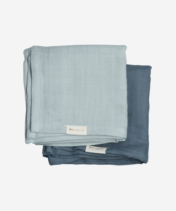 Fabelab - Muslin Cloth 2 Pack - Sea