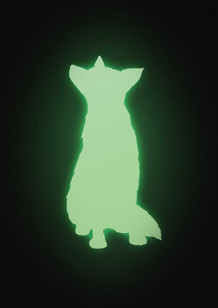 KEK AMSTERDAM GLOW IN THE DARK - FOX