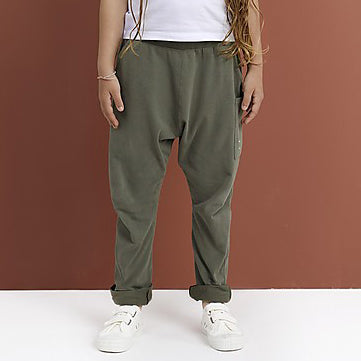 GRAY LABEL RELAXED POCKET SUMMER TROUSERS MOSS GREEN