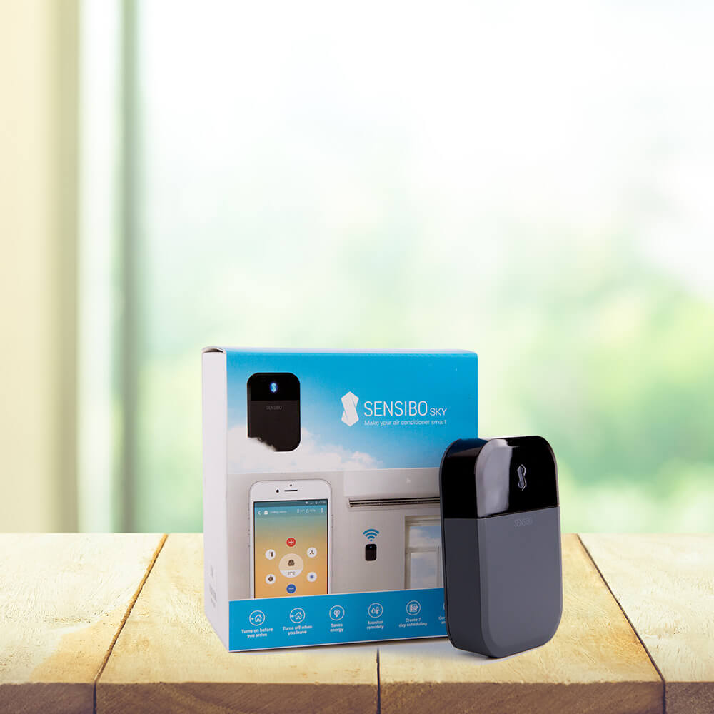Sensibo Smart Air Conditioner Control Your Ac With Phone Central Distribution Device Manages Phones Internet Audio Video Meet The 2nd Generation Sky Its Never Been Easier To From Anywhere Anytime Maximize Comfort And Save Energy