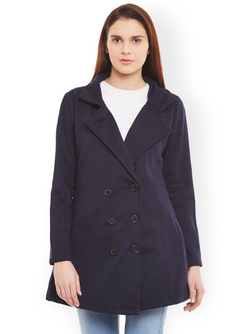 Belle Fille Navy Overcoat