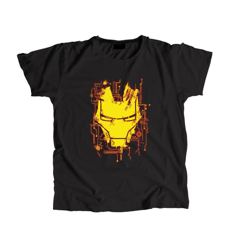 Marvel Iron Man Roundneck Unisex T-shirt