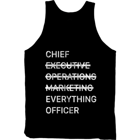 Chief Everything Officer Tank Top