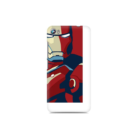 Canvas Fire 4 Iron Man Poster