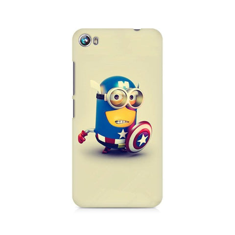 Canvas Fire 4 Captain America Minion