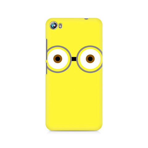 Canvas Fire 4 Minion Big Eyes